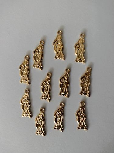Imagen 1 de 3 de Santa Muerte Dije Metalico 50pzas  2.5 Cms Calidad Bisuteria