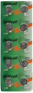 Eunicell - Batería Botón Para Celular / Reloj Ag13 1