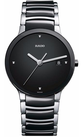 Reloj Rado Centrix Jubilé R30934712 Negro-plata De Caballero