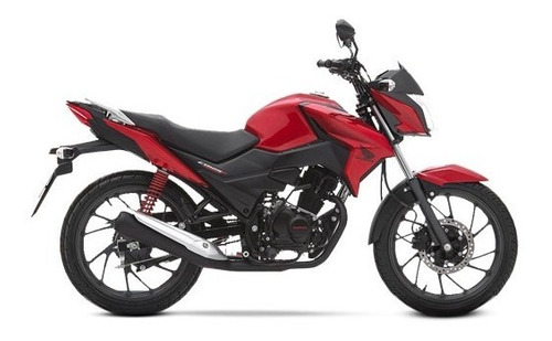 Imagen 1 de 2 de Honda Cb 125cc Twistter Moto Naked Colo Rojo