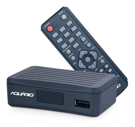 Conversor Digital Aquário Dtv4000 S Função Gravador Hdmi Rca