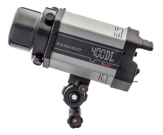 Kit 02 Flash De Estúdio 400 Dl Prolight Bivolt