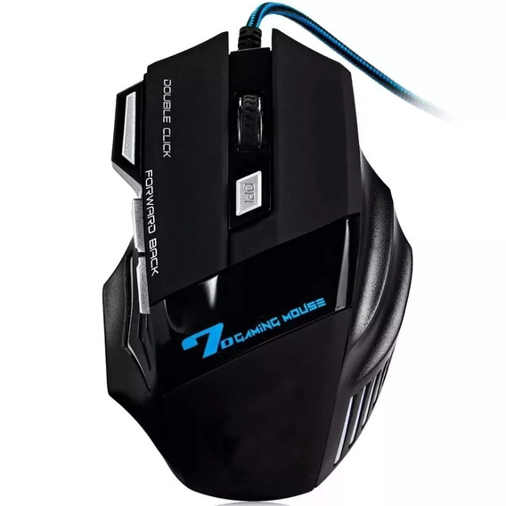 Mouse Gamer Usb Óptico Pc 3000 Dpi Led Xsoldado 7d Gm-700