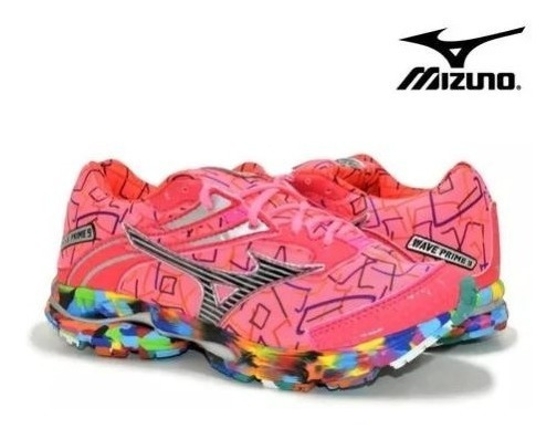Tenis Feminino Masculino Mizuno Prime 9 Osaka Original Corrida Academia Caminhada Envio Imediato Após A Compra