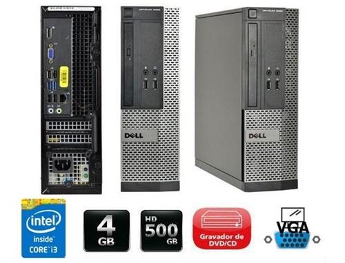 Cpu Dell Optiplex Intel Core I5 8gb Ssd 120gb - Promoção