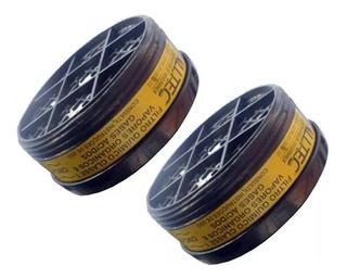 2 Filtros Quimico Vapor Orgânico E Gás Ácido P/ Mastt Alltec