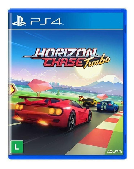 Horizon Chase Turbo Ps4 Mídia Física Pronta Entrega