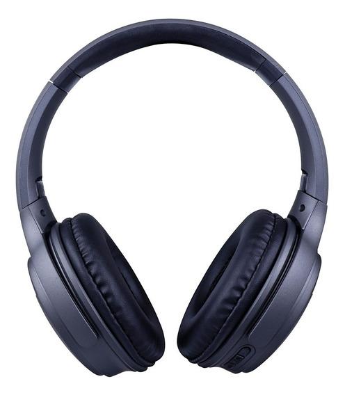 Fone De Headset Posh Bluetooth Com Microfone Hs312 Cinza Oex