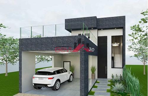 Casa Em Construção; 3 Dorms Sendo 1 Suíte; R$950.000,00 - V5602