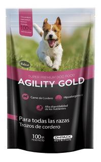 Alimento Para Perro -agility Trozos De Cordero 100 Gr
