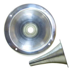 Boca De Corneta Alumínio De Rosca Curta D250x Som Qualidade