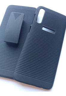 Capa Impacto + Suporte Cintura Celular Samsung Galaxy A70