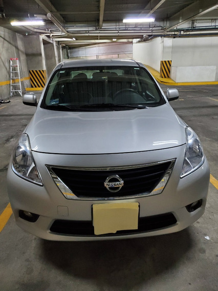 Nissan Versa Advance 2012 Tm/ac