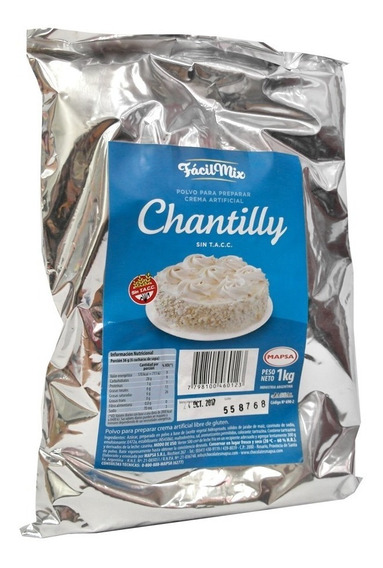Crema Chantilly Mapsa 1 Kilo - Ciudad Cotillón - Envíos