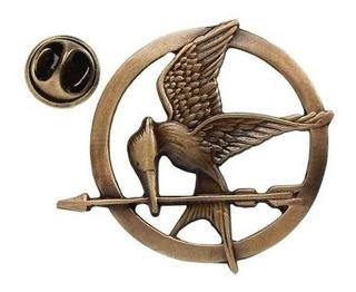 Mayoreo 10 Sinsajos Hunger Games 3 Modelos Broche Collar Pin