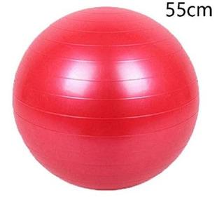 Balón Pilates Terapia Yoga Pelota Gimnasio 55 Cm Abdominales