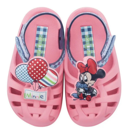 Sandalias Minnie Mickey Disney Original Ct Teoytino Zuemk