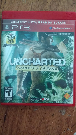Uncharted. Midia Física Blu-ray, Frete Gratis
