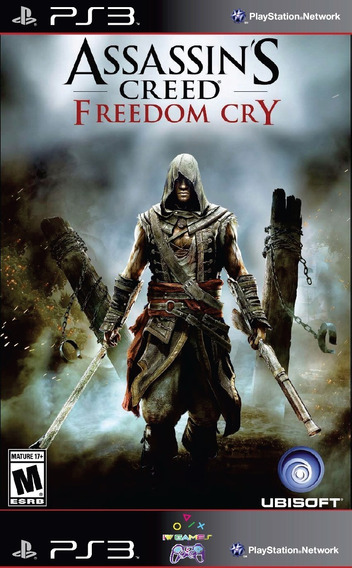 Assassins Creed Ps3 Psn Freedom Cry Envio Já