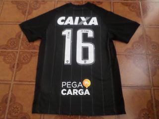 Camisa Botafogo Preta Jogo Brasileiro 16 M