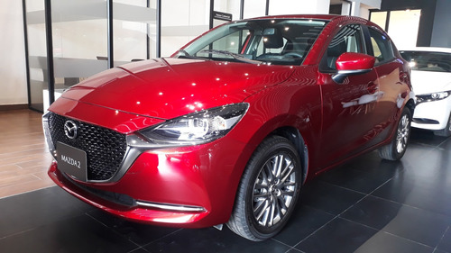 Imagen 1 de 12 de Mazda 2 Sport Grand Touring  Automatico 2022 Rojo Diamante