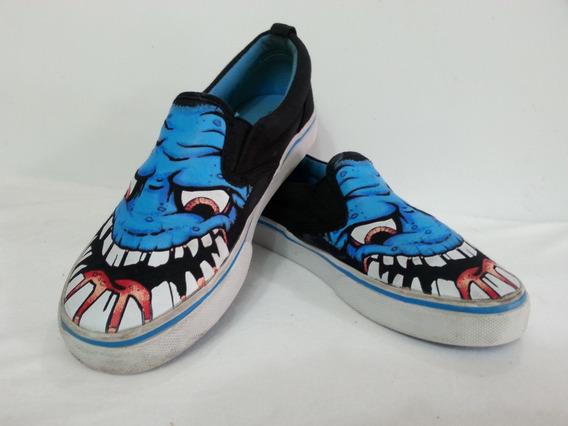 Zapatos Gomas Tipo Converse Para Niño - Talla 34 /35 - 3 Usa