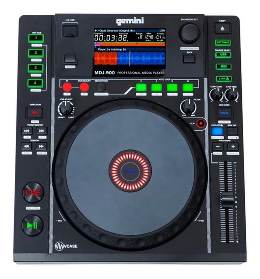 Cd Player Cdj Profissional Gemini Mdj-900
