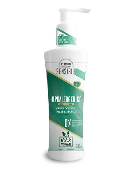 Hidratante Sensible Para Peles Especiais Hipoalergênico