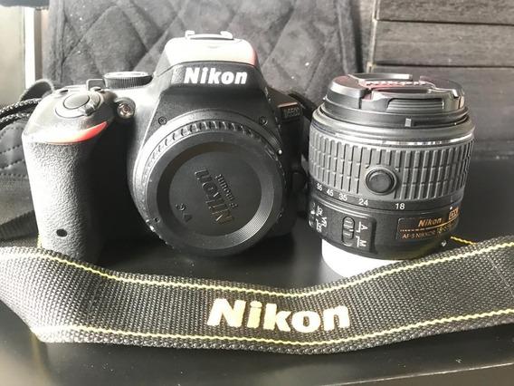 Câmera Nikon D5500 + Lente Af-p Dx Vr 18-55mm