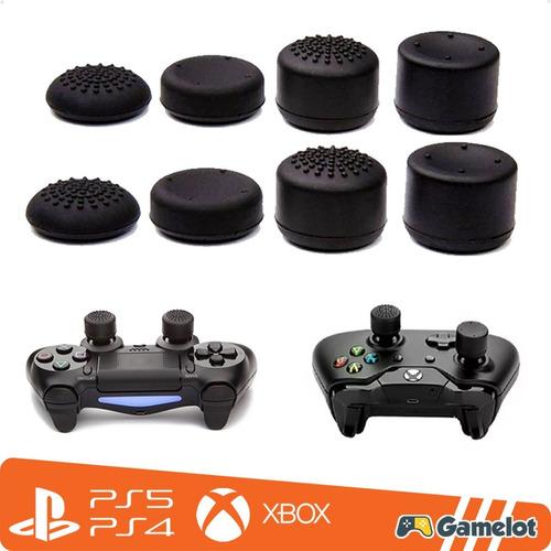Imagem 1 de 8 de Kit 8 Protetor Extensor Kontrol Freak Controle Grip Ps4 Xbox