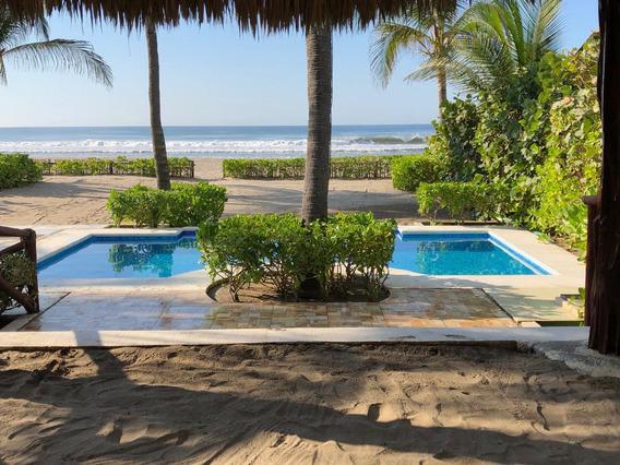 Acapulco Excelente Propiedad A Pie De Playa C/uso De Suelo
