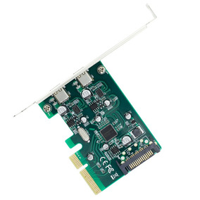 2 Portas Usb 3.1 Tipo - C Pci Expresso Controlador Adicionar