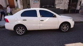 Wv Voyage Confort Line Plus 1.6 2012 Blanco Impecable