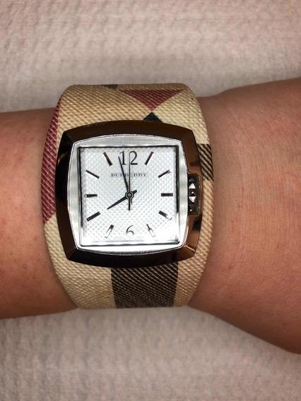Relógio Original Da Burberry