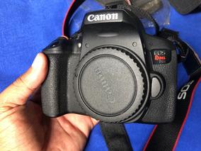 Camera Canon T6i Kit Completo Pouco Usada