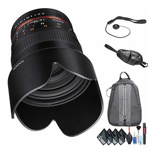 Rokinon 50mm F/1.4 As If Umc Lente P/ Nikon F Mount + De ©