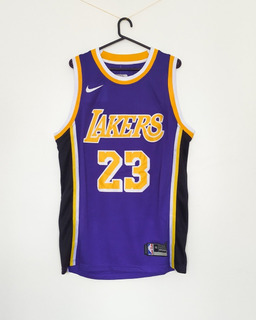 Camiseta Nike Swingman Nba Lebron James Angeles Lakers