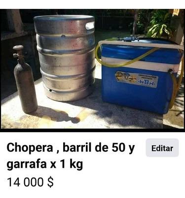 Chopera Barril Y Garrafa