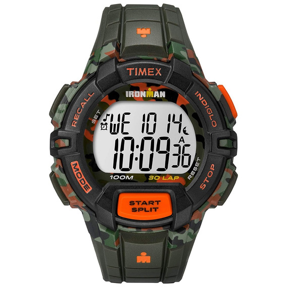 Relógio Timex Ironman Camuflado.
