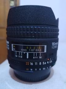 Nikon 16mn 2.8 Fisheye Impecavel