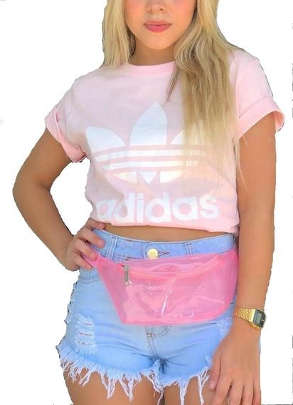 Camiseta Blusa Feminina Adid Cores Academia Promoção