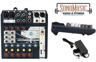 Consola De Audio Soundcraft Notepad8 Con Usb Y Efectos