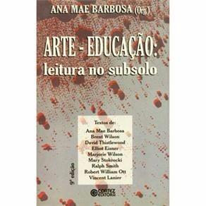 Livro Sobre Filosofia E Educação Da Autora: Ana Mae Barbosa.
