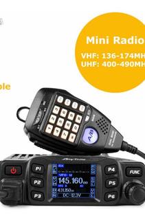 Equipo Radio Comunicaciones Anytone At778uv Vhf Uhf