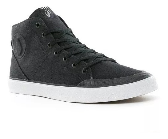 Zapatillas De Vestir Volcom Hi Fi Black Originales!