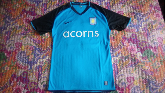 Camiseta Aston Villa Nike 2008/2009 #23 - Talle Xl