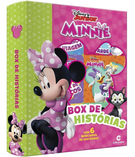 Imagem 1 de 1 de Livro Infantil Minnie C/6 080202 Culturama Editora E Pt 1 Un
