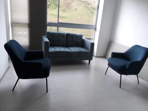Imagen 1 de 14 de Ideal Apartamento Amoblado En Renta - Sector Llanogrande, Ri