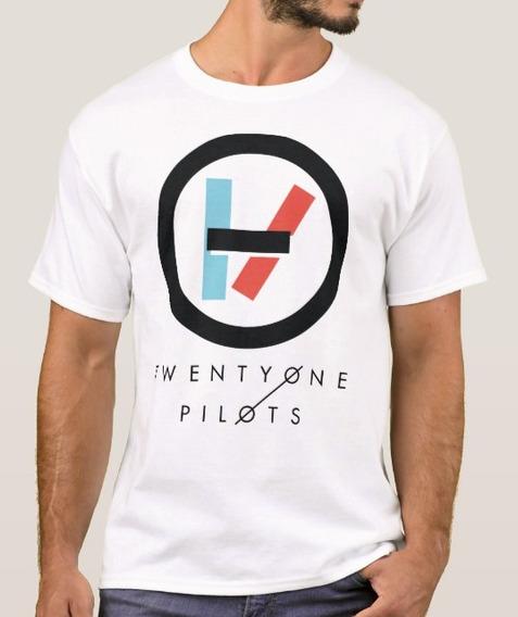 Playera Twenty One Pilots Logo Con Envío Gratis