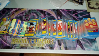 Vendo Lote De 906 Cartas Dragon Ball Z Gt Y Kai